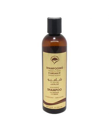 Shampooing à l'argan et kératine